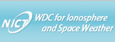 WDC for ionosphere<br>and space weather